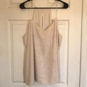 Spotted tank top